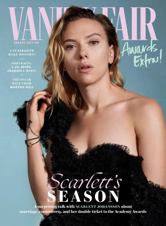 Scarlett Johansson cover