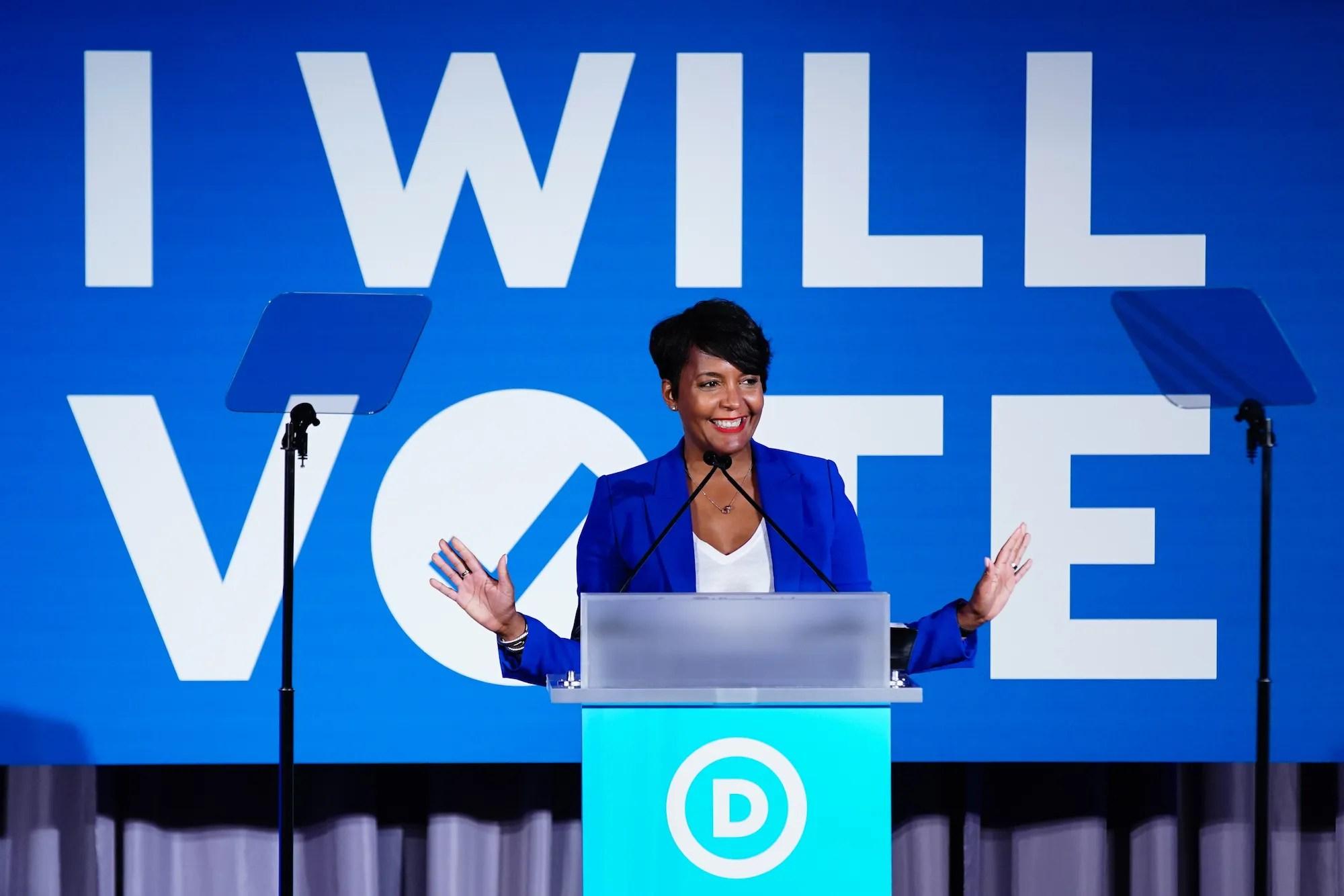 Atlanta Mayor Keisha Lance Bottoms (D) among short list of Biden VP choices @keishabottoms #keishabottoms