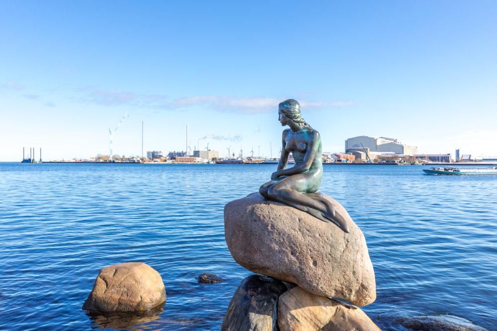 sevärdheter i Köpenhamn, sevärdheter i Danmark, Den lilla sjöjungfrun, staty i Köpenhamn