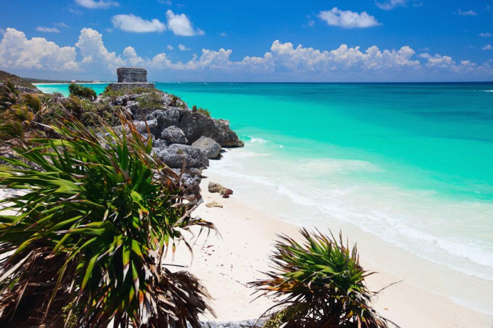 bästa stränderna i världen, strand i Mexiko, bästa stränderna i Mexiko, mayaruiner i Mexiko