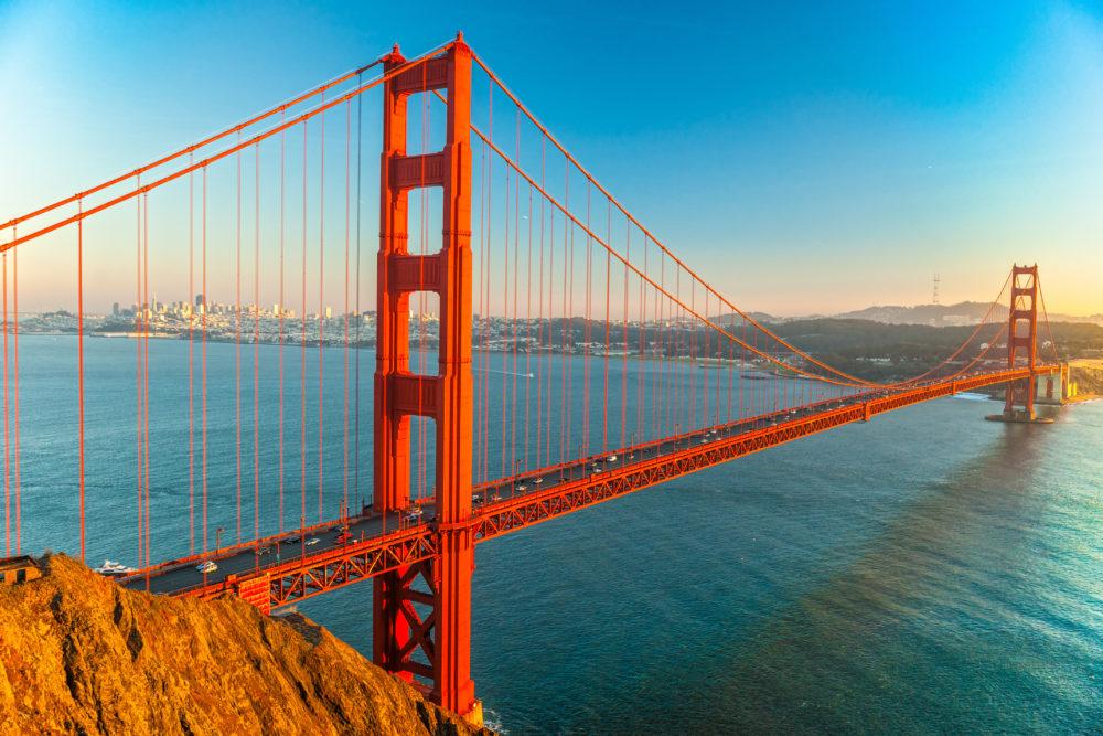 sevärdheter i San Francisco, saker att göra i San Francisco, sevärdheter i Kalifornien, saker att göra i Kalifornien, sevärdheter i USA, kända byggnader i USA, kända broar i USA, kända broar i världen