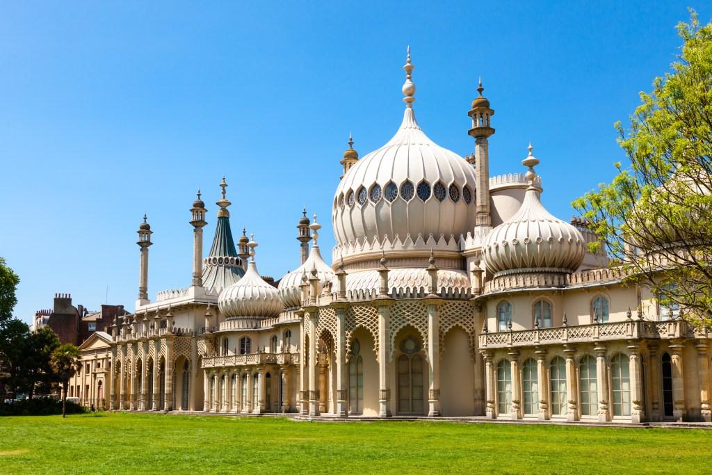 resor, resa, Storbritannien, England, Royal Pavilion, palats, Brighton