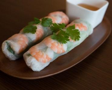 goi cuon, vietnamesisk mat, vietnamesiska maträtter, mat i Vietnam