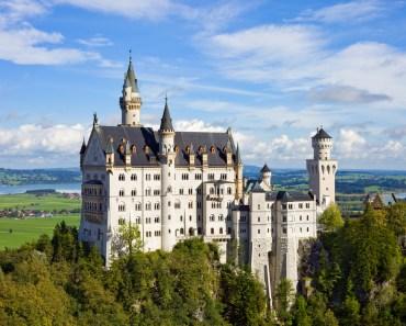 slott i Tyskland, tyska slott, sagoslott, vackra slott
