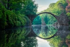 vackra broar, Djävulsbron i Tyskland, sagolika platser, sagobro