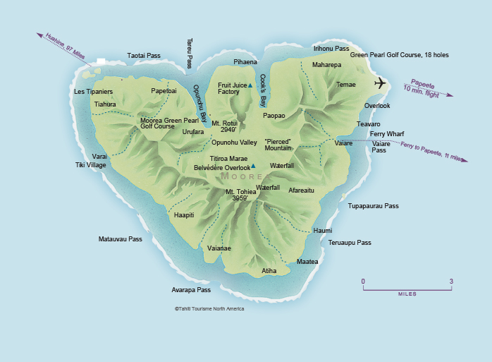 Kauai Hawaii Maps Road Map