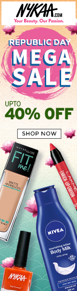 Deals / Coupons Nykaa 5