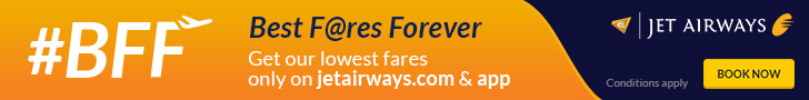 Deals / Coupons Jet Airways 1