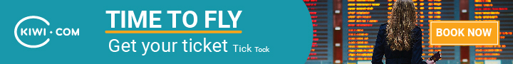 Kiwi CPS TimeToFly 720x90 en - Plan Your Trip