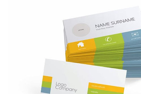 HD Decor Images » Free Business Card Vector Template