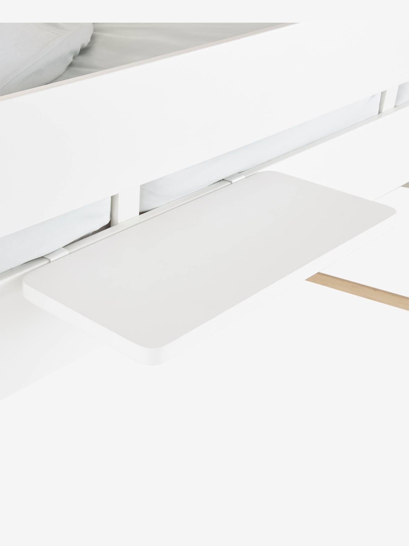 tablette chevet a suspendre pour ligne everest blanc