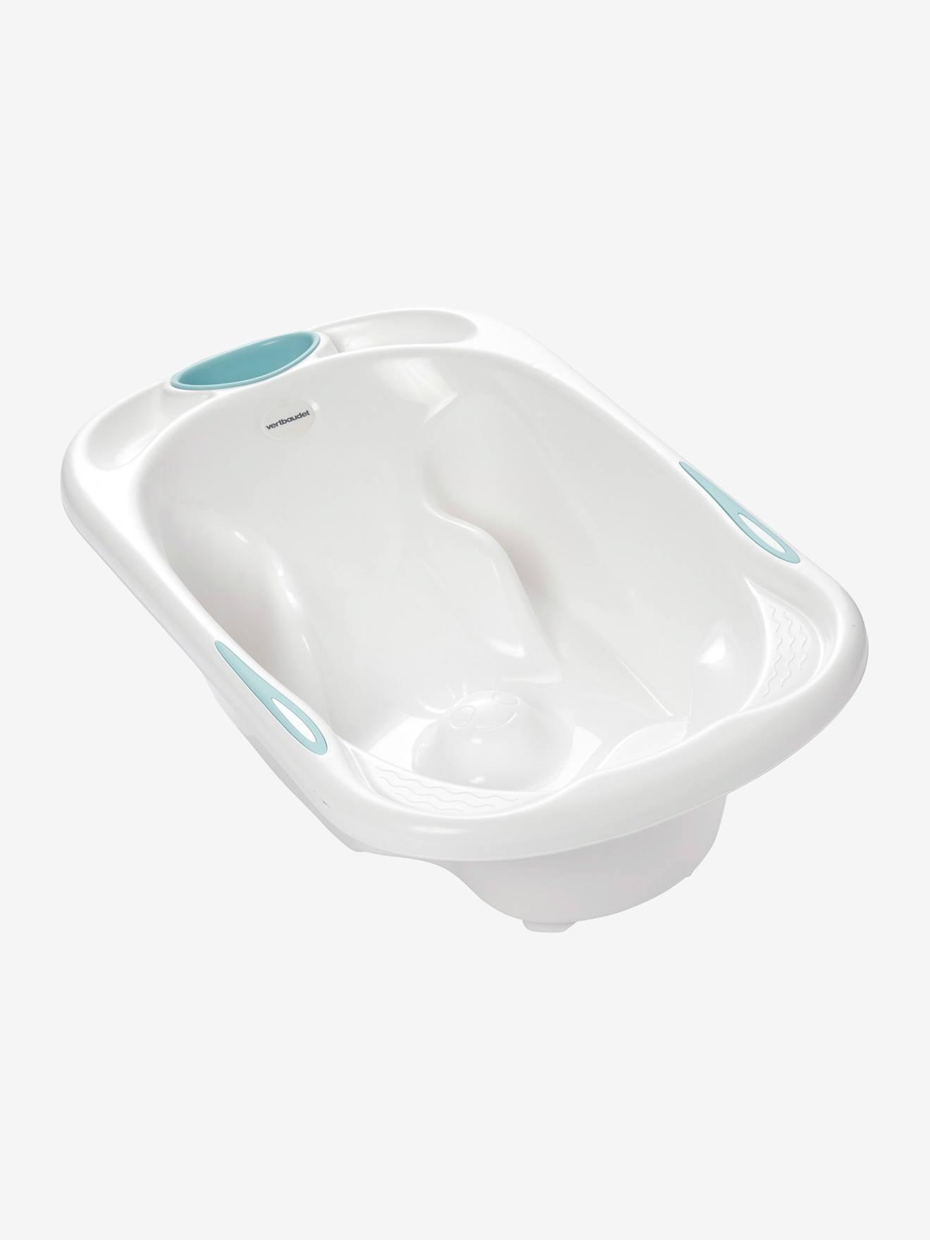 baignoire 2 en 1 cooltub vertbaudet blanc