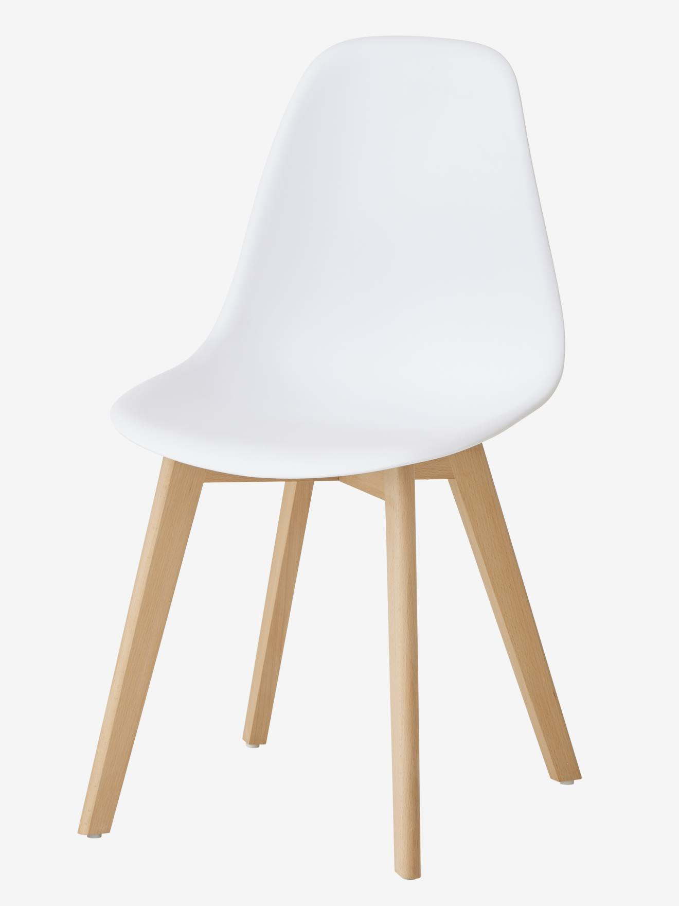 chaise primaire scandinave blanc