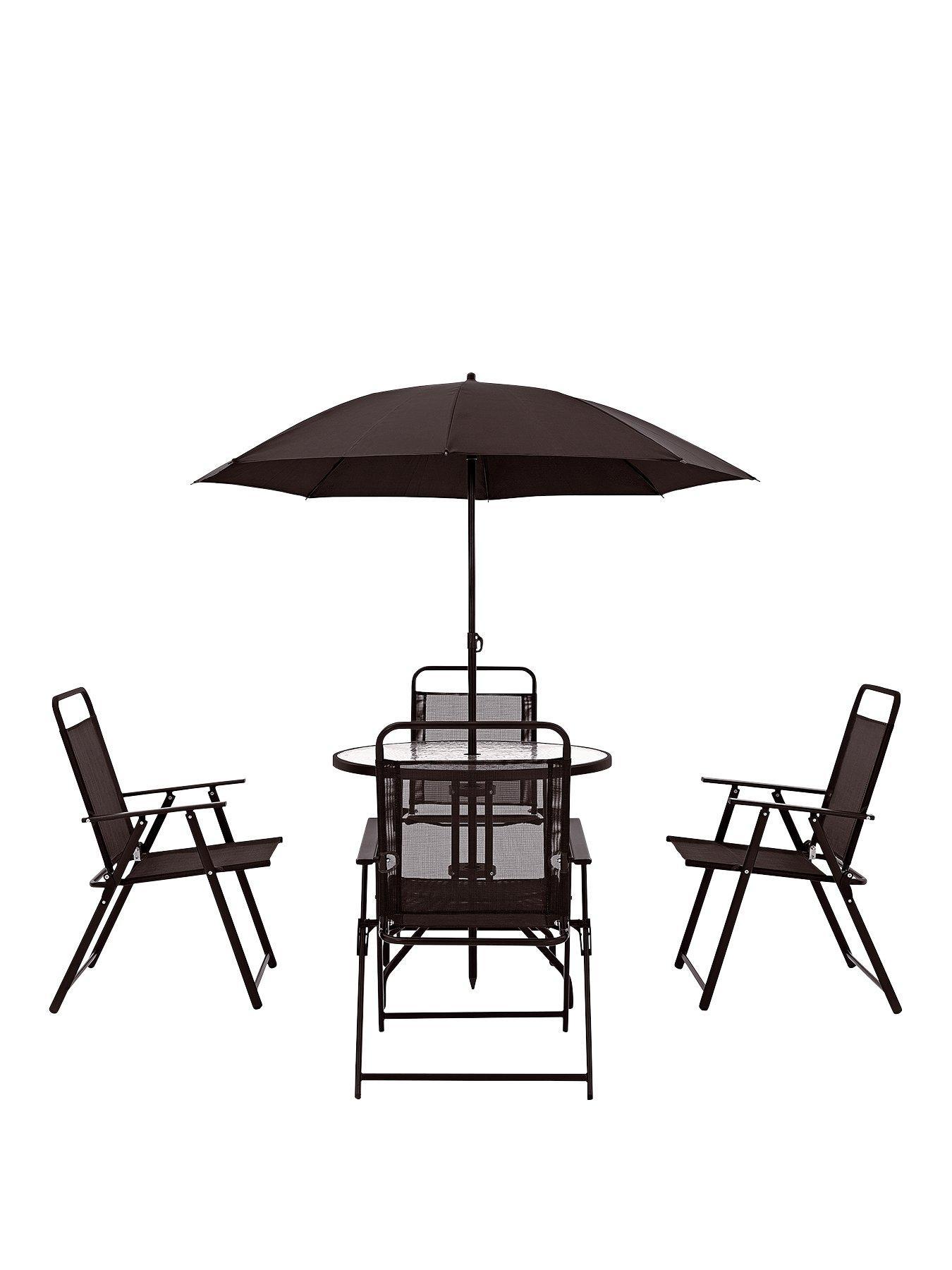 santa rosa 6 piece outdoor dining set