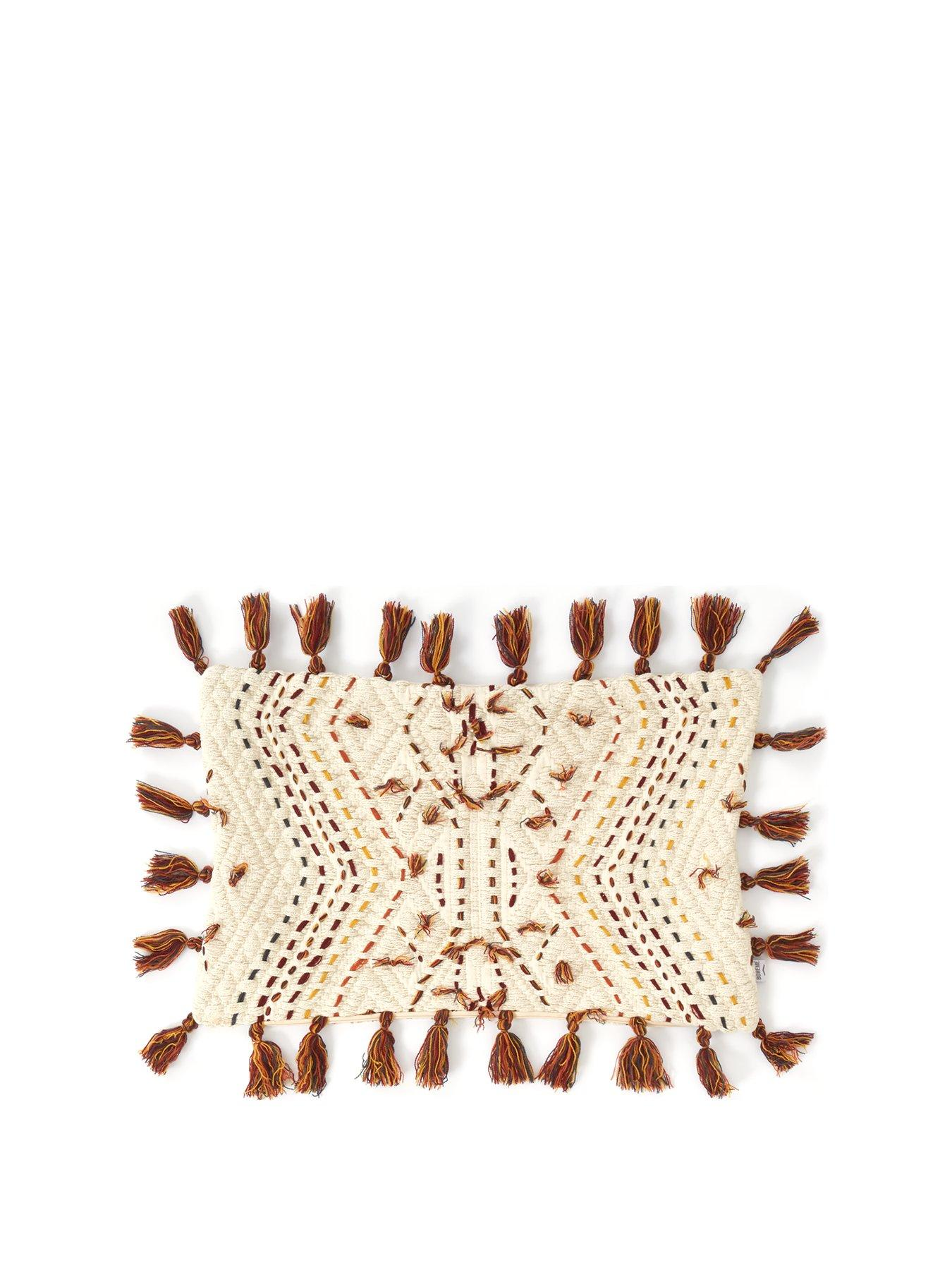 Paracas Hand Embroidered Cushion