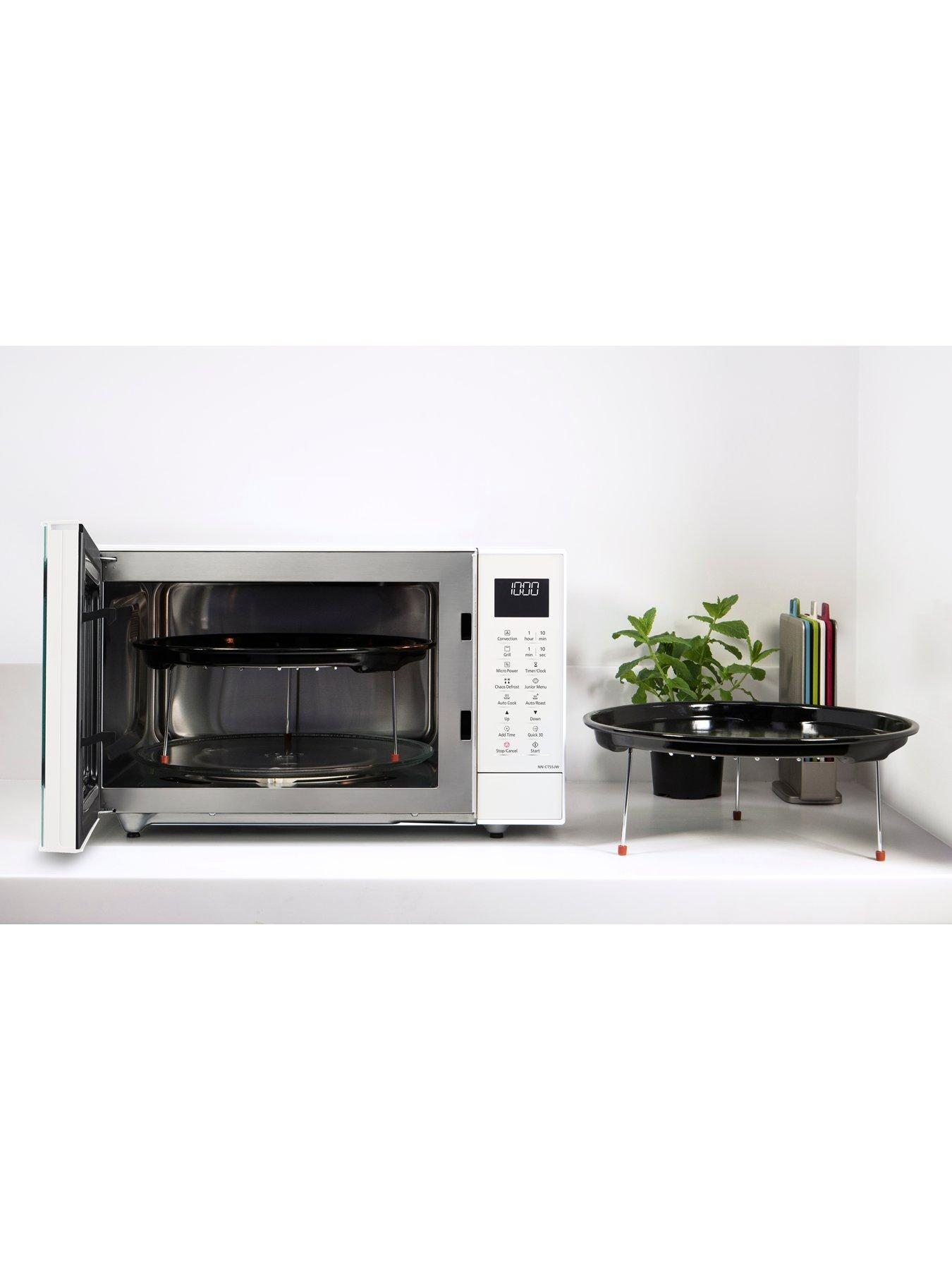 nn ct55jwbpq 27 litre combination microwave oven and grill with inverter technology