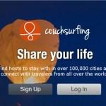 couchsurfing new