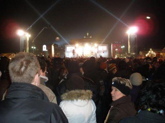 Ano Novo em Berlim - Foto por: Eduardo Macagnan