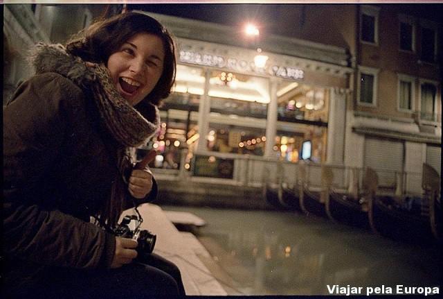 Catarina Lima em Veneza.