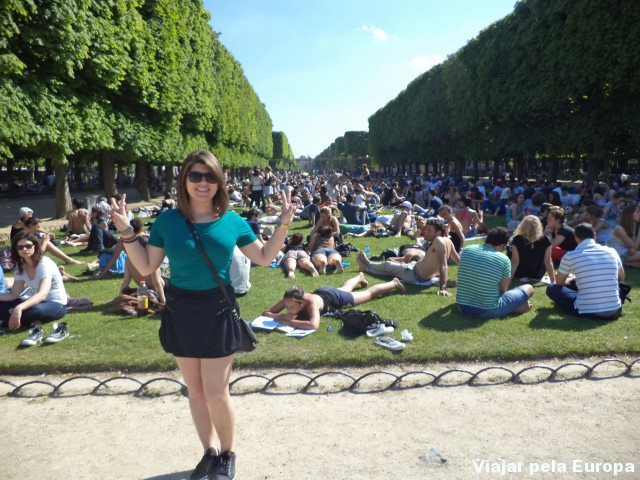 A formalidade francesa nos parques Oo