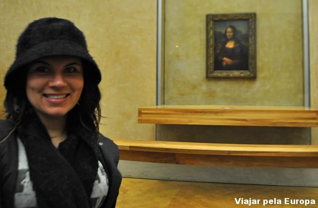 A tradicional foto com a Mona :)