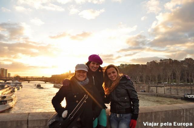 A Lud também foi com a gente para Paris. Que sonho!