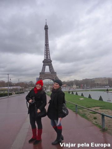 A primeira impressão de Paris tinha de ser vendo a Torre :)