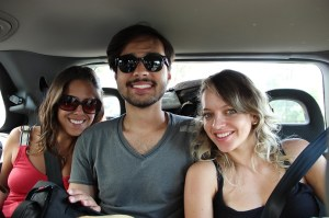 De carona numa van - 5 amigos - de Nice pra Marseille - 10 euros cada