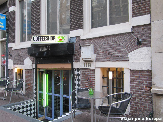 Coffee Shop Monaco, Amsterdam.