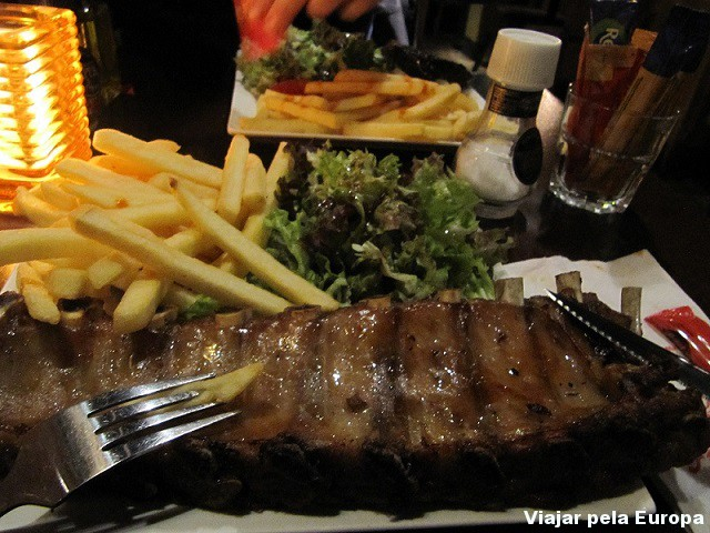Barbecue Ribs, Restaurante Grill Argentino.