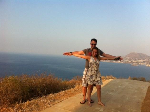 Muito amor por essa vista das montanhas de Creta.