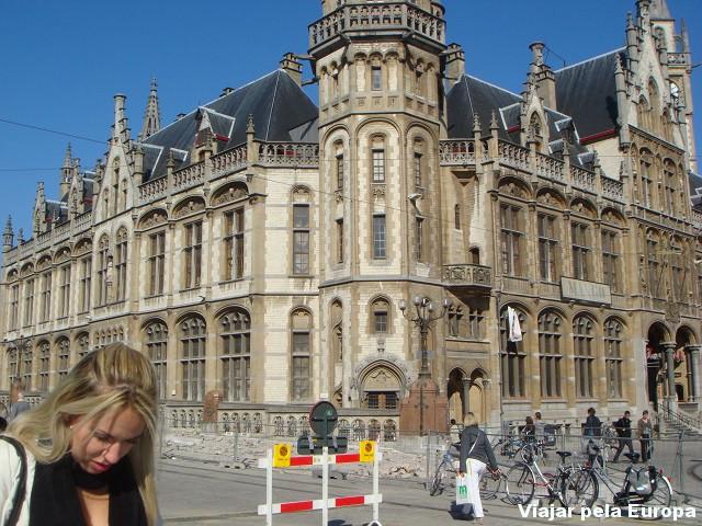 Mari Pontes em Gent, Bélgica.