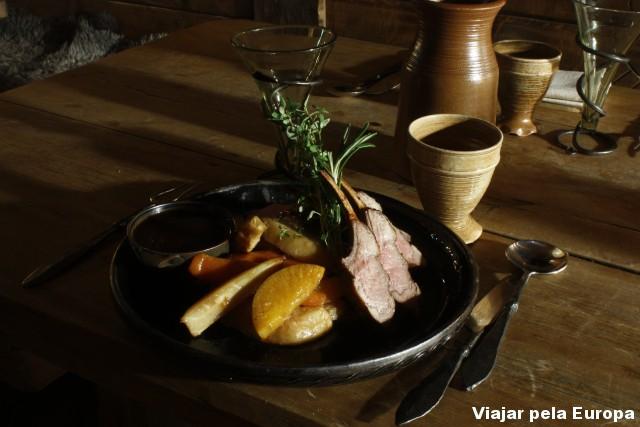 Comida tipicamente viking. #yummy