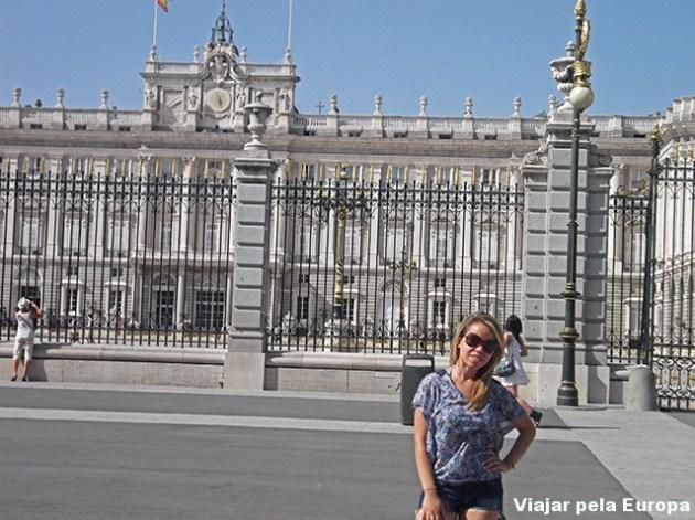 Palácio Real de Madrid, verão 2012.