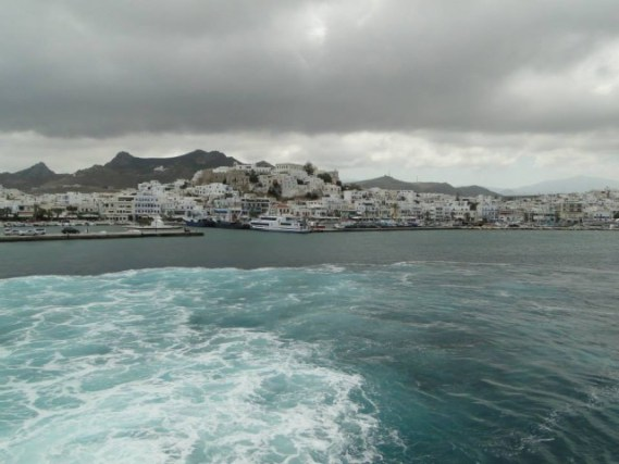Porto da Ilha de Ios -