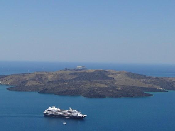 Vulcão - Santorini. Foto por: Naiara Back