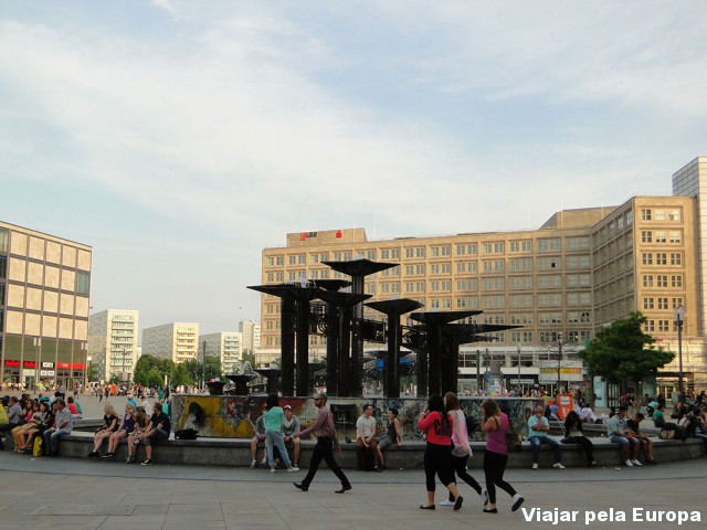 Movimento na Alexanderplatz