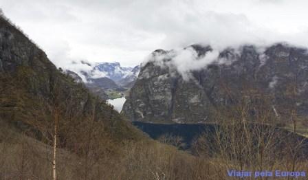 Aurlandfjord - Noruega