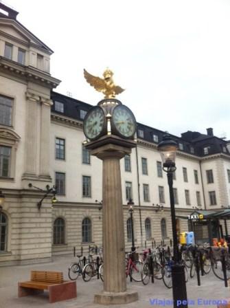 Entrada da Estação Central de Estocolmo