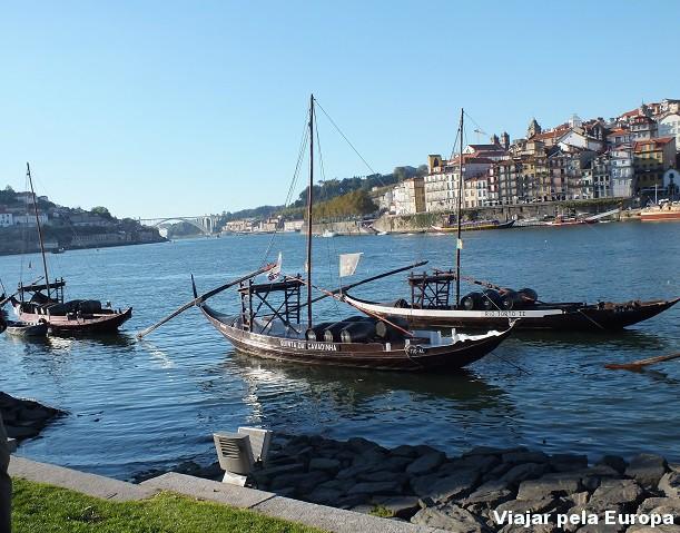 O charme do Porto visto do cais de Gaia.