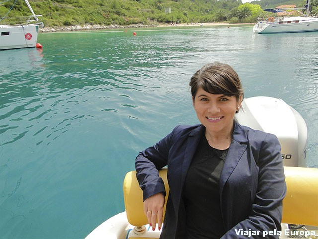 Passeio de barco pelas ilhas croatas