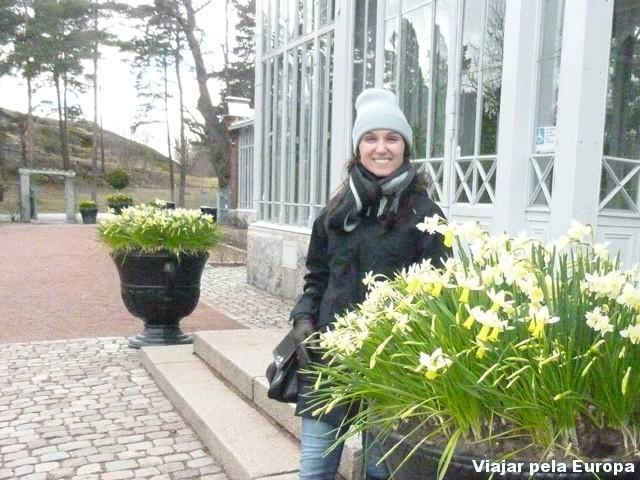 Jardim Botânico de Inverno, Helsinque.