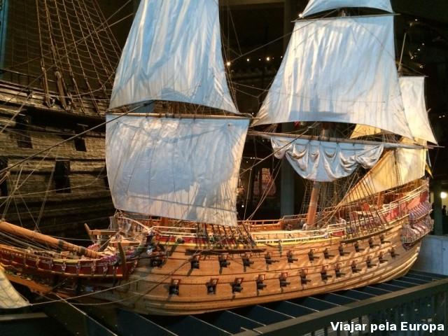 Réplica do navio Vasa.