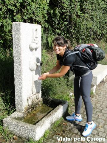 Uma das fontes do caminho português de Santiago :)