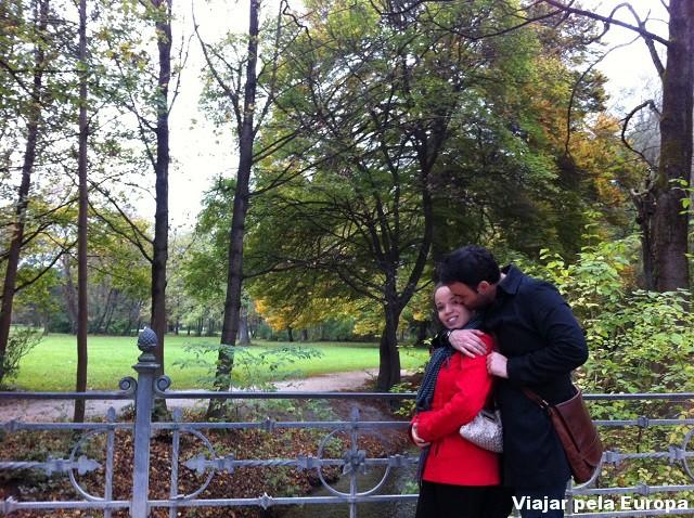 Dia lindo para um passeio no English Garden.
