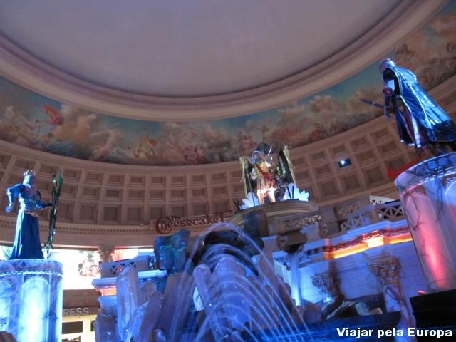 Show da Fonte de Atlantis.