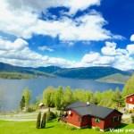 Viagem de trem pela Noruega