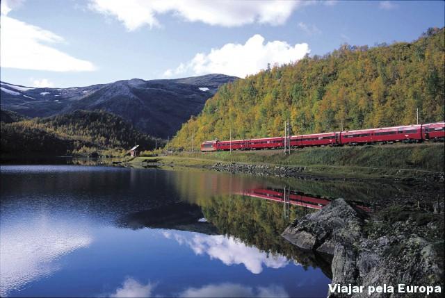 Vigem de trem - Foto por - NSB-Svein Ulvund