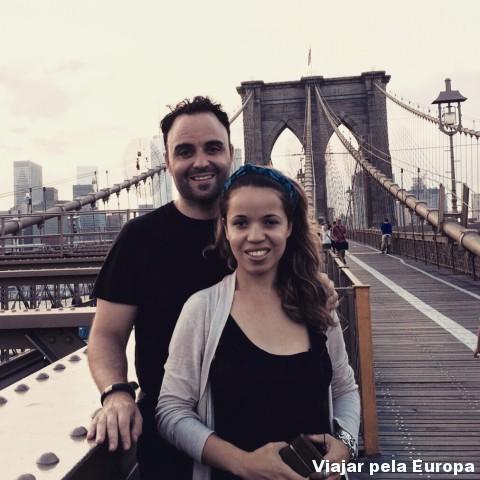 E e o Daniel amamos cada passeios que fizemos pela encantadora Nova York!