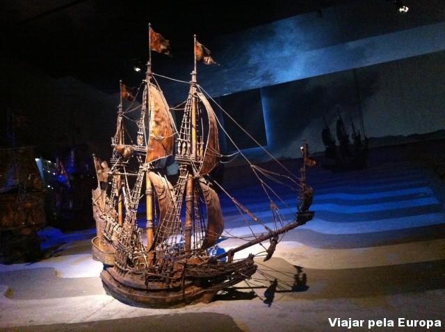 Museu Vasa - Estocolmo.